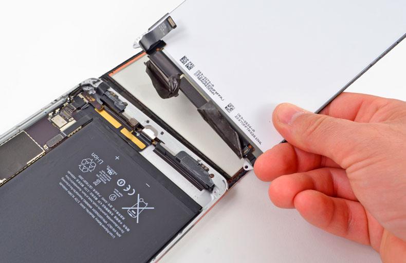 Замена батареи / аккумулятора на iPad mini