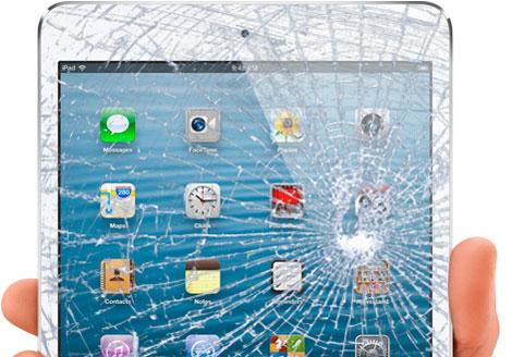 Разбит тачскрин / стекло на iPad mini