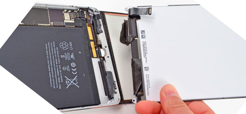Замена экрана и стекла на iPad mini