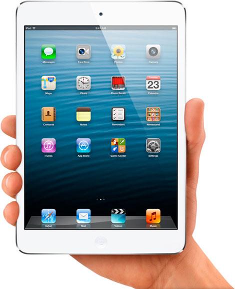 Замена разбитого стекла на iPad mini