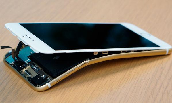 Сильно поврежденный корпус iPhone 6S