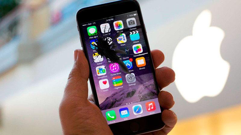 Разбит экрана или стекло на iPhone 6S