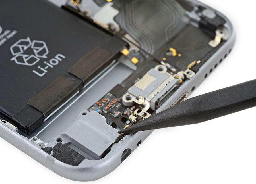 Замена основного микрофона iPhone 6S