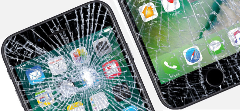 Разбилось стекло на iPhone 7