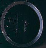 Царапины на считывающей поверхности кнопки