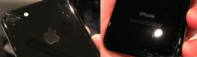Корпус Айфон 7 поцарапался, погнулся, зашеркался