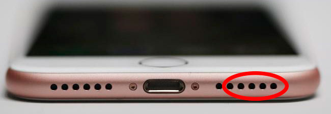 Нет звука на iPhone 7