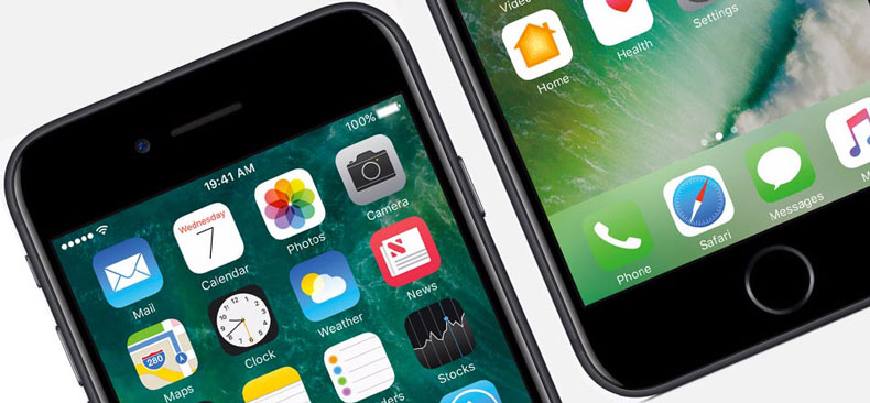 Замена разбитого стекла на Айфон 7