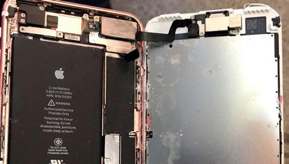Ремонт после воды Айфон 7+