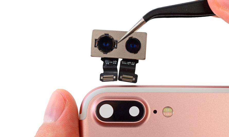 Замена основной камеры на Айфон 7+