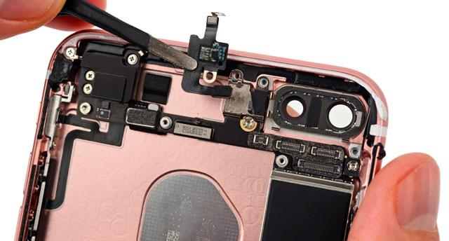 Замена глазка камеры на iPhone 7 Plus