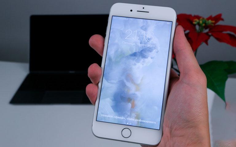 Замена разбитого стекла iPhone 7 Plus
