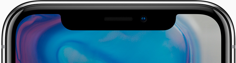 Новый дисплей iPhone X