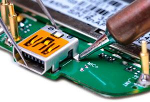 Замена разъема зарядки на планшете