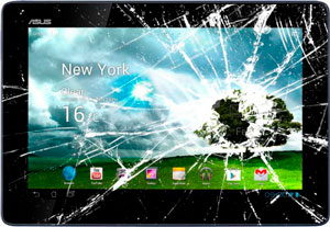 Замена стекла / тачскрина на планшете