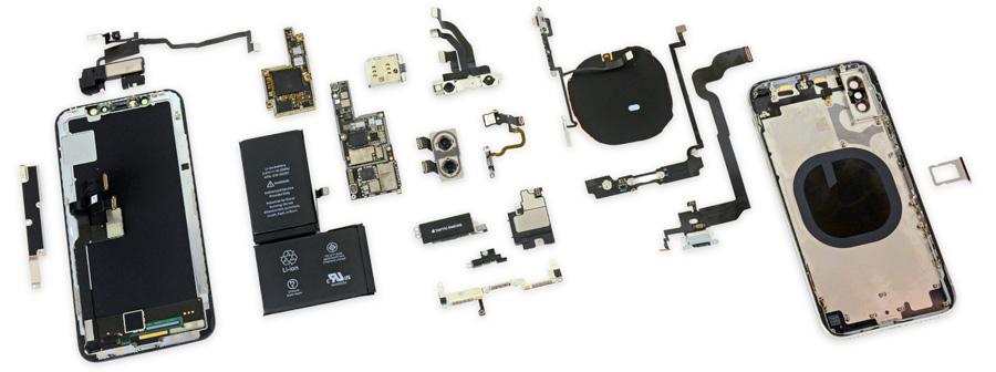 Запчасти на iPhone X и iPhone 8