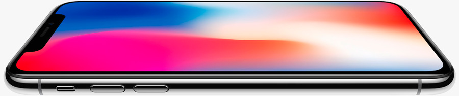 Экран нового типа на iPhone X